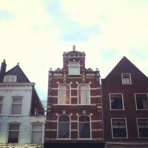 Delft Buildings at 9 p.m.